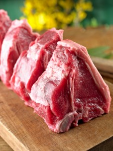 Raw Lamb Chop